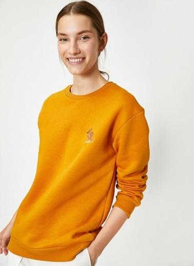 Koton Sweatshirt Hardal